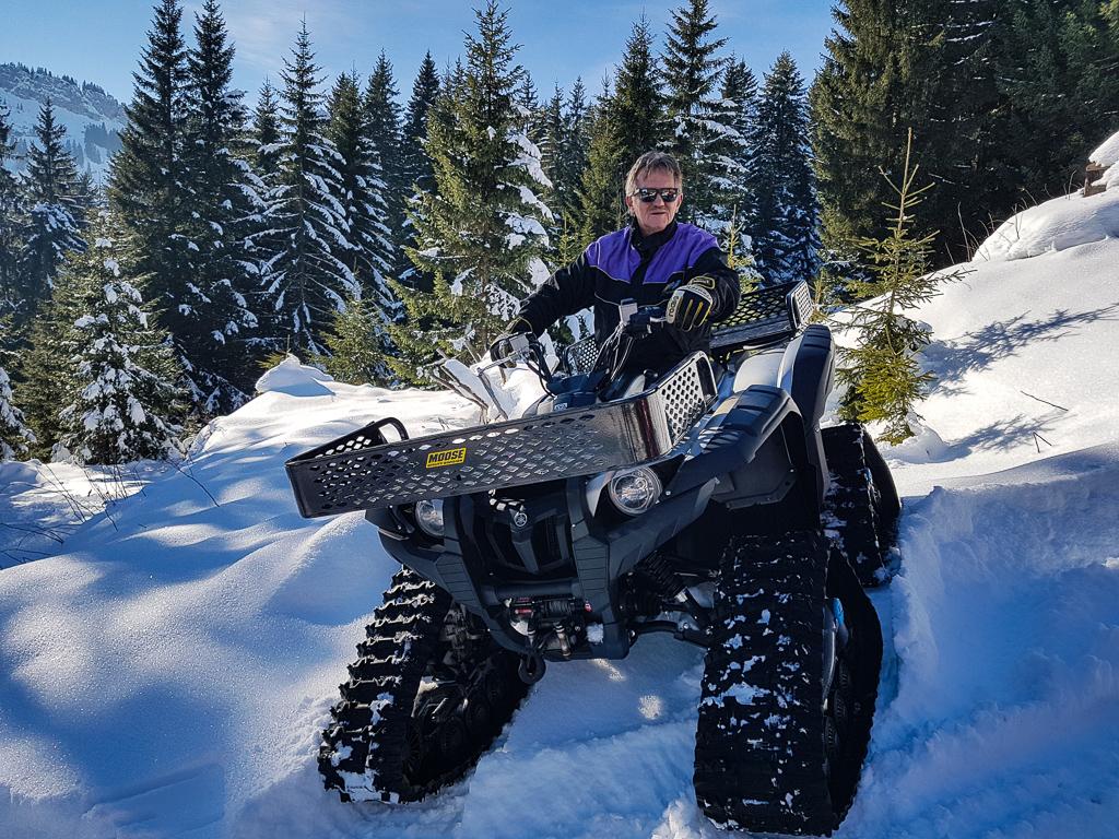 Raupenfahrzeuge & Quads im Allgäu